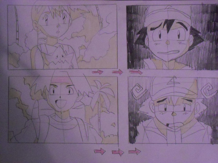 Pokemon Storyboard By DAn On Deviantart