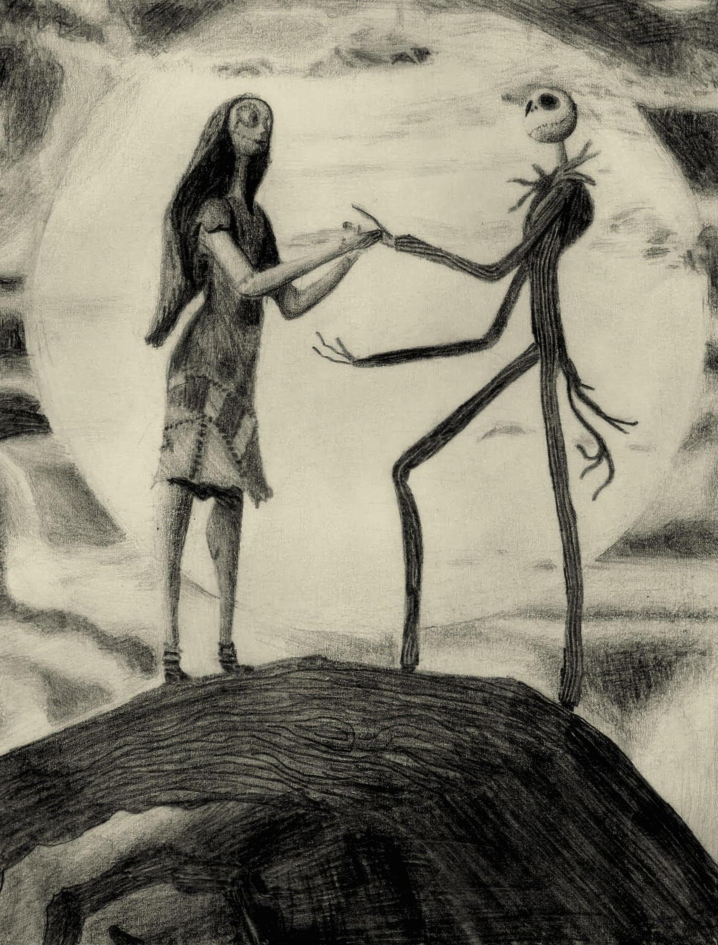 Jack and Sally by wattaip on DeviantArt