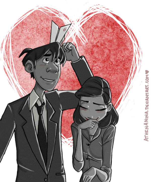 Paperman by AthenaNina