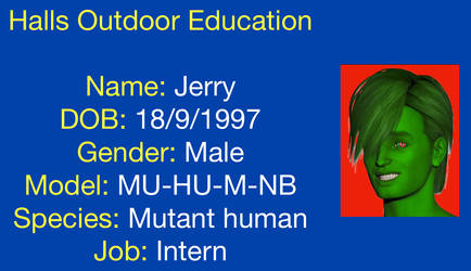 Jerryzoids HODE ID card by andrewkemp15