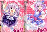 Hyperdimension Neptunia - Love Live Cards (Idol)