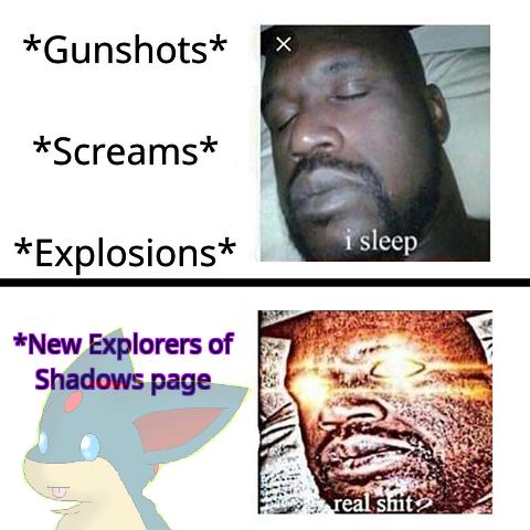 ASCENDED (Eos/Sleeping Shaq meme) by Ch1lly1 on DeviantArt