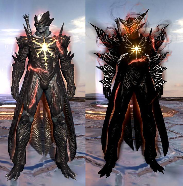 Demon form of Chris by Creelien on DeviantArt