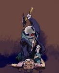 [undertaleAU][horrortale]one head dog comin' up!