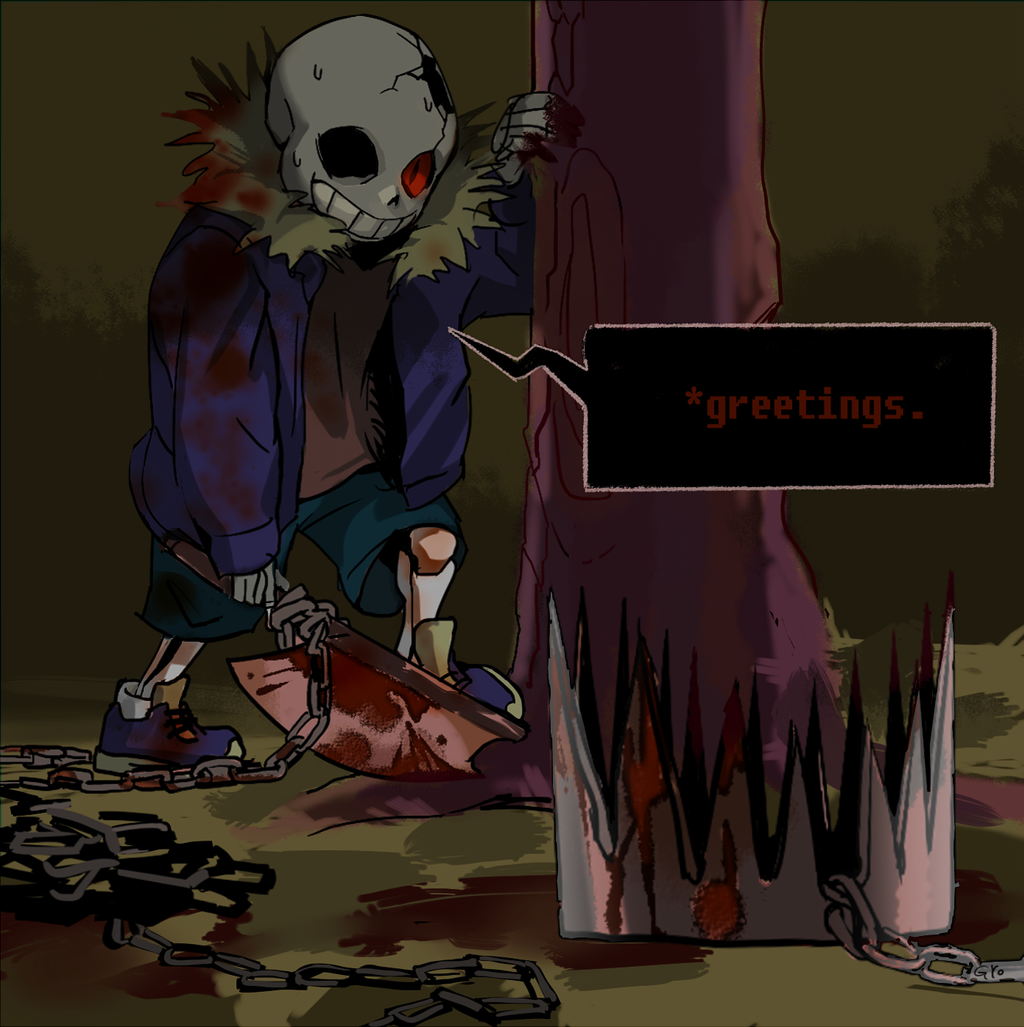 [bloodshed caution]*greetings, kid. by nogoojing