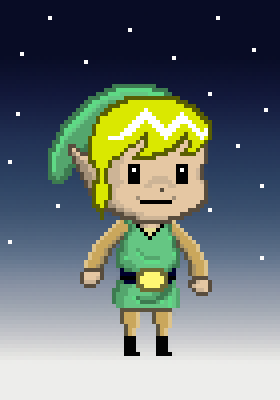 Pixel-link by Colourful-Crampton