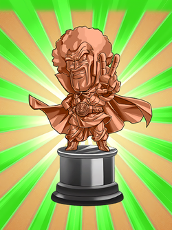 Hercule statue (bronze) by Lssj3broly123