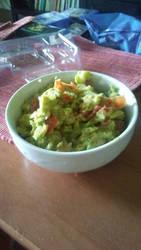 Home-made Fresh Guacamole