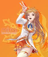 Mirai Suenaga -Winter Uniform- by saiki2