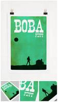 Boba Fett Poster by RomaXP