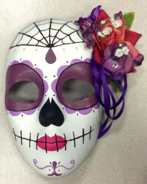 Day Of The Dead Mask By ImperialDroid