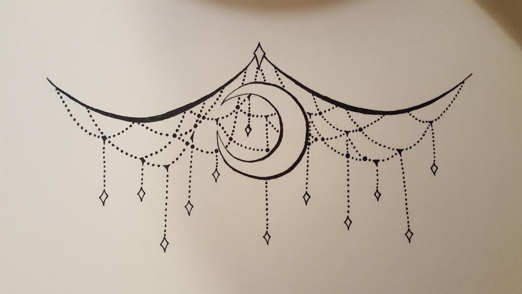 Line Art Tattoo Designs : Underboob tattoo design by imperialdroid on deviantart