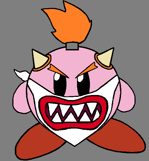 Bowser Jr Kirby By Seltraeh22 On Deviantart