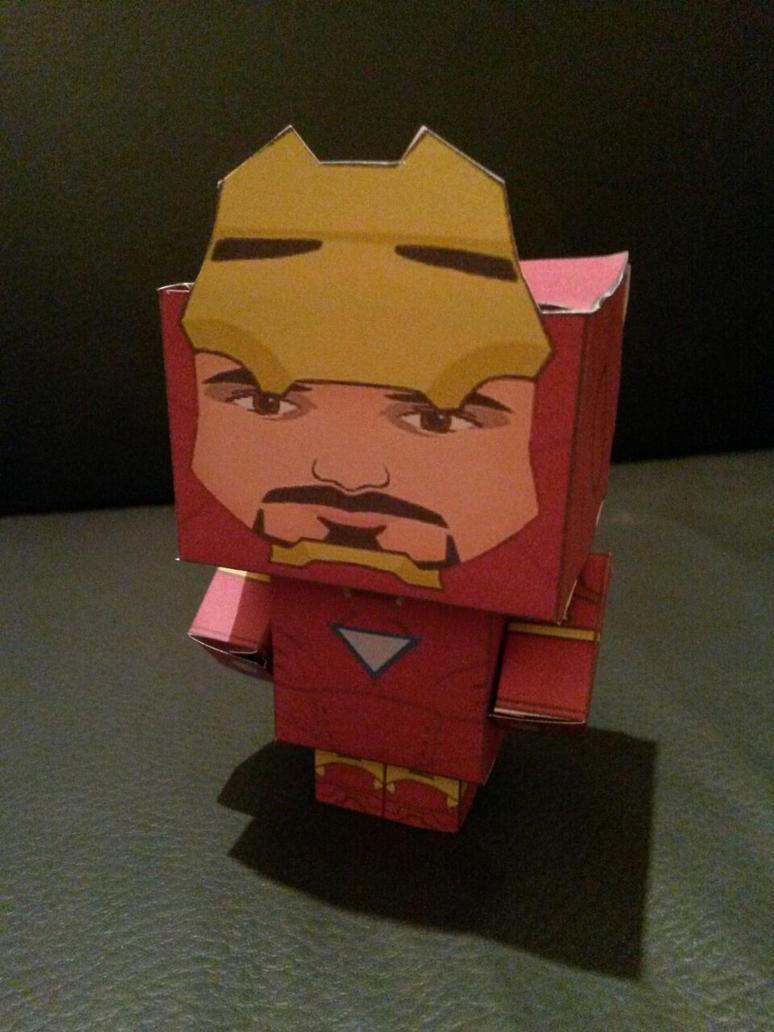 Ironman - Cube by Jhadin