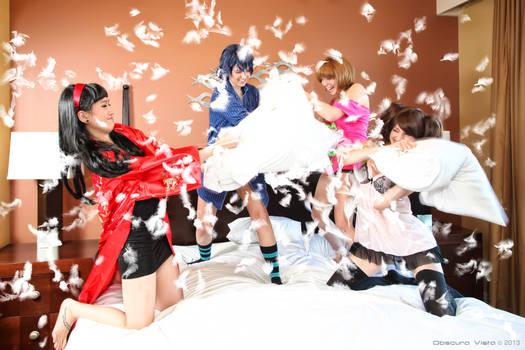 Persona4 Pillow Battle