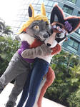 Fursuit Photoshoot by Carwailea