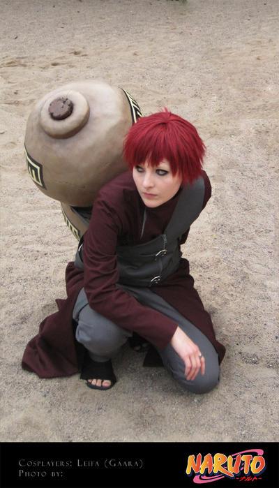 My Gaara cosplay by Leifa on DeviantArt Gaara Cosplay