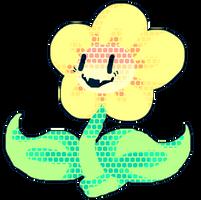 Undertale: Flowey Dot Much. by afroclown