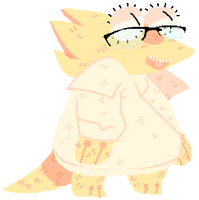 Undertale: Alphys Much by afroclown