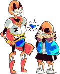 Undertale: Papyrus And Sans Much.