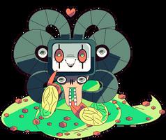 Undertale OmegaFlowey: Heart by afroclown