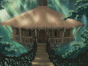 GoT - Jungle Hut by Saracia