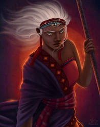 Zelie - Children of Blood and Bone by Saracia