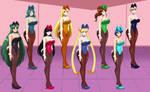 Forming the Senshi Harem finale
