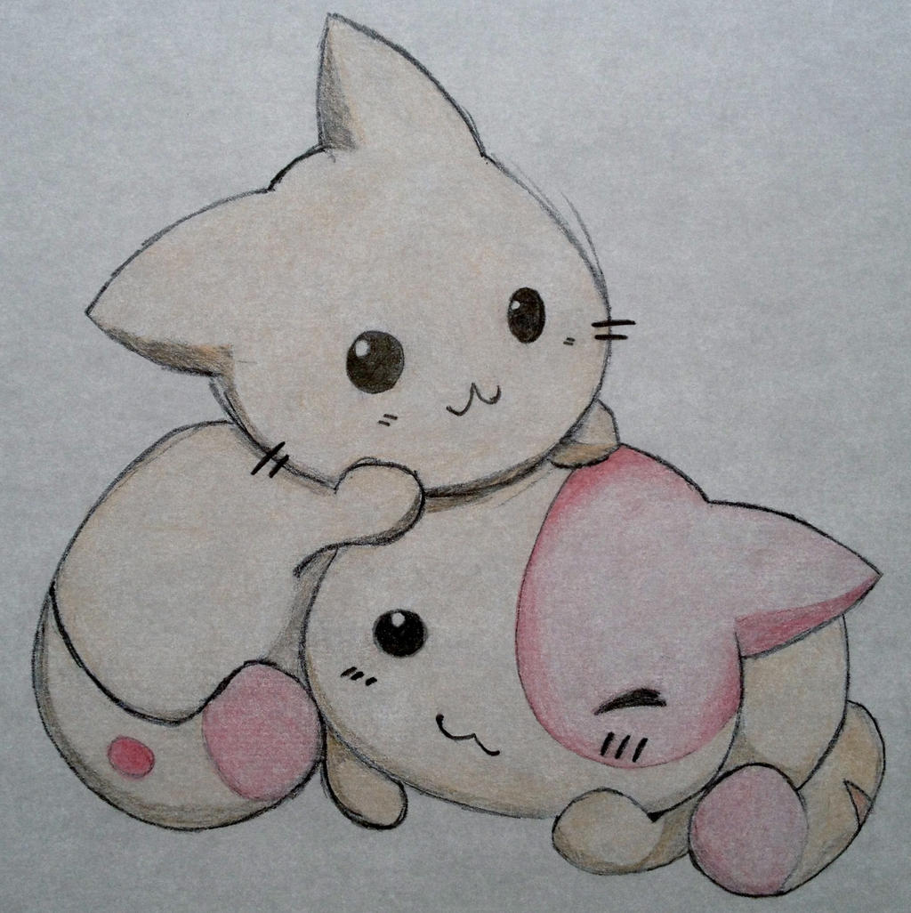 Cute drawings of kittens the image kid for Cute simple drawings