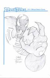 Venom Sketch Card 001 by gregscottbailey