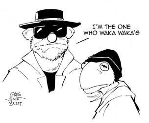 Muppets Breaking Bad by gregscottbailey