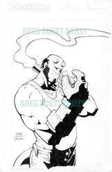 2014 Hellboy by gregscottbailey