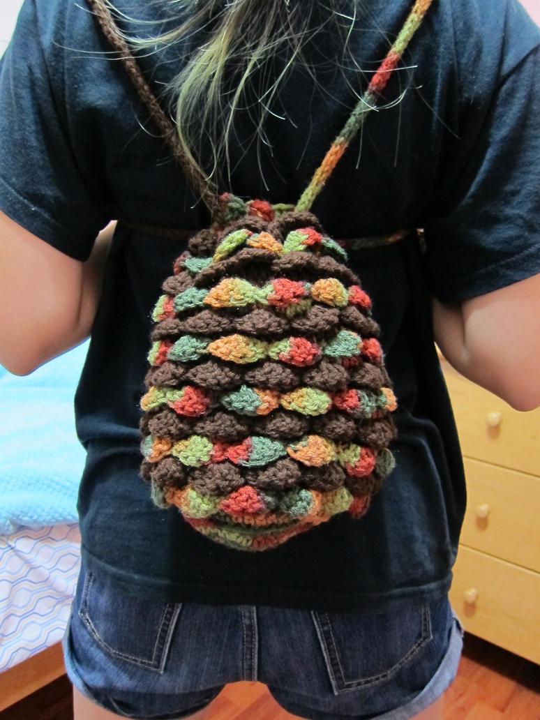 Dragon Egg Dice Bag Crochet Pattern : Dragon egg drawstring bag by tangelato on DeviantArt