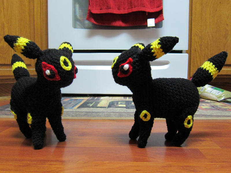 Crochet Umbreon : Umbreon Plush (crochet) by tangelato on DeviantArt