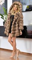Ivanka Trump in sable fur