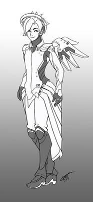 Mercy - Male Version - Overwatch