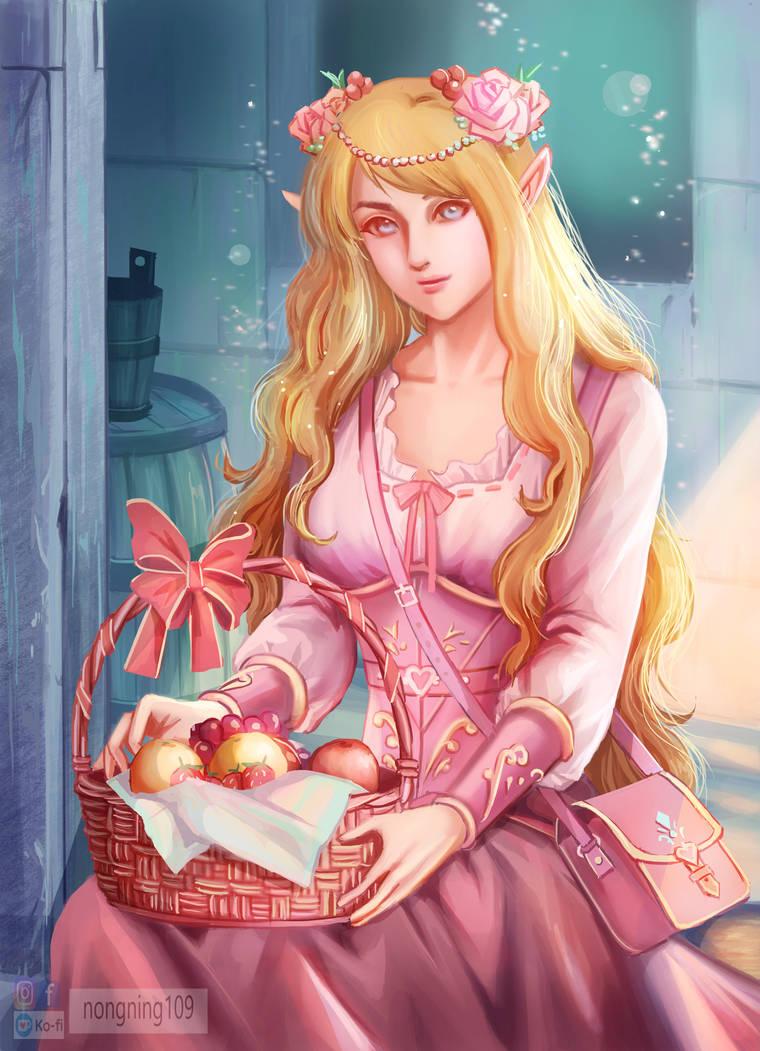 Elf girl( practice Character Design)