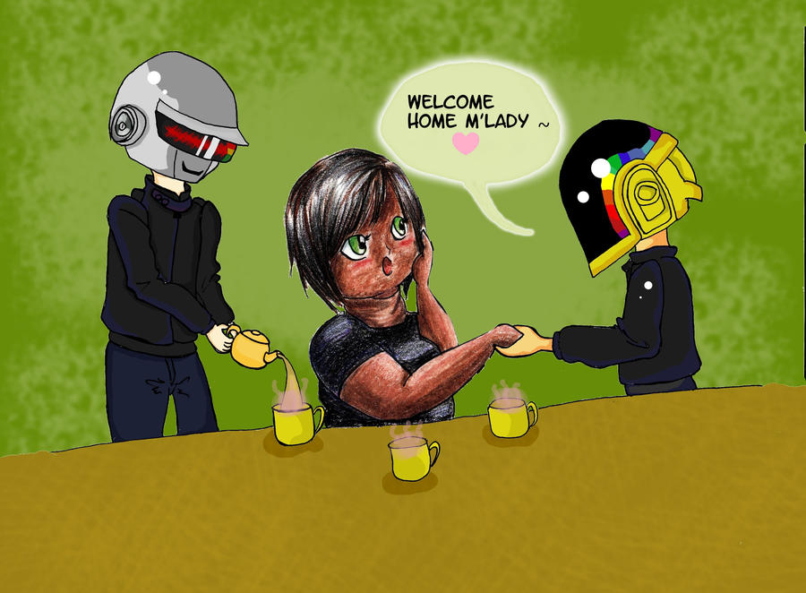 Daft Punk Tea Party- Collab Pic~ by mtijan2008