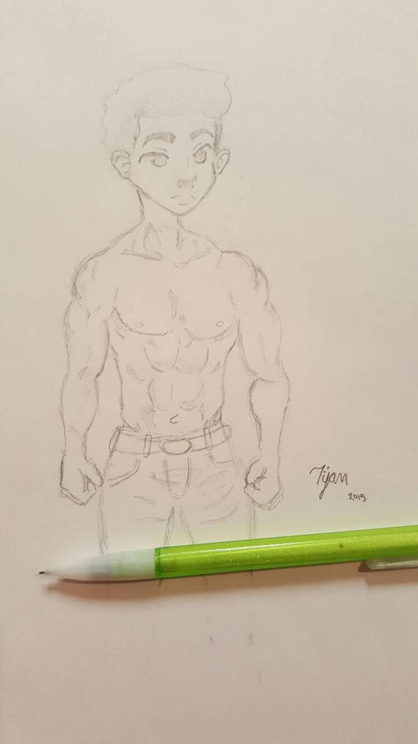 Male Anatomy practice by mtijan2008