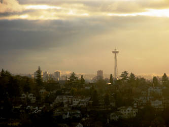 Seattle from Across by MikeKlacy