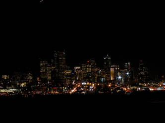 Seattle Skyline Core by MikeKlacy