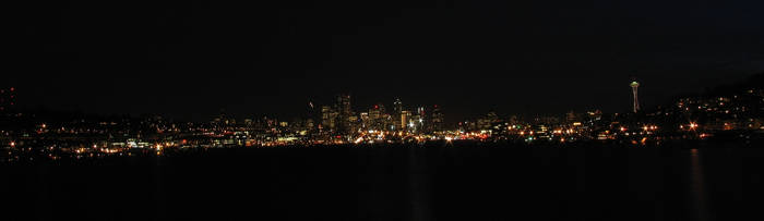 Seattle Panorama by MikeKlacy