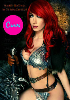 Scantily Red Sonja