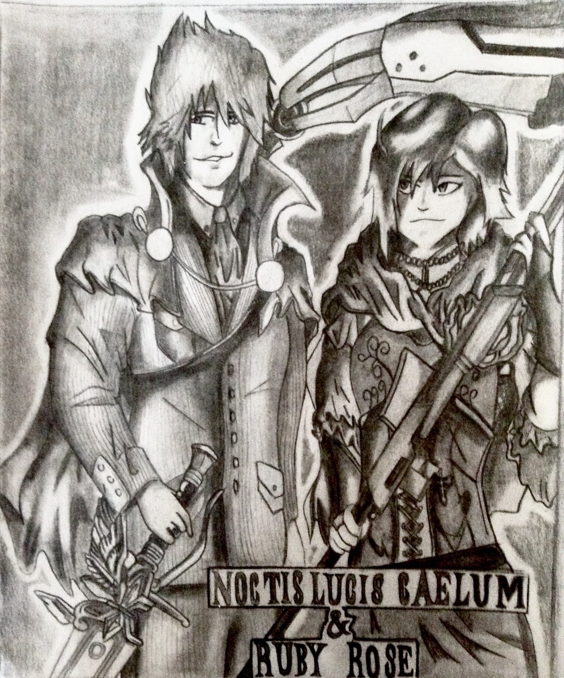 Crossovers King And Queen: King Noctis And Queen Ruby