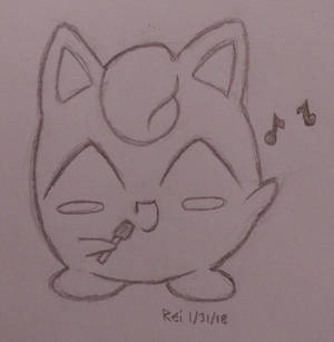 Day 60: Singing Jigglypuff