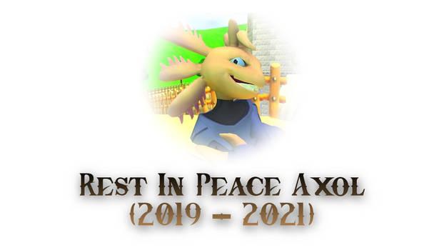 Rest In Peace Axol (From 2019 to 2021)