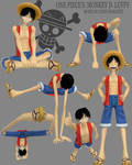 3d Monkey D Luffy DONE