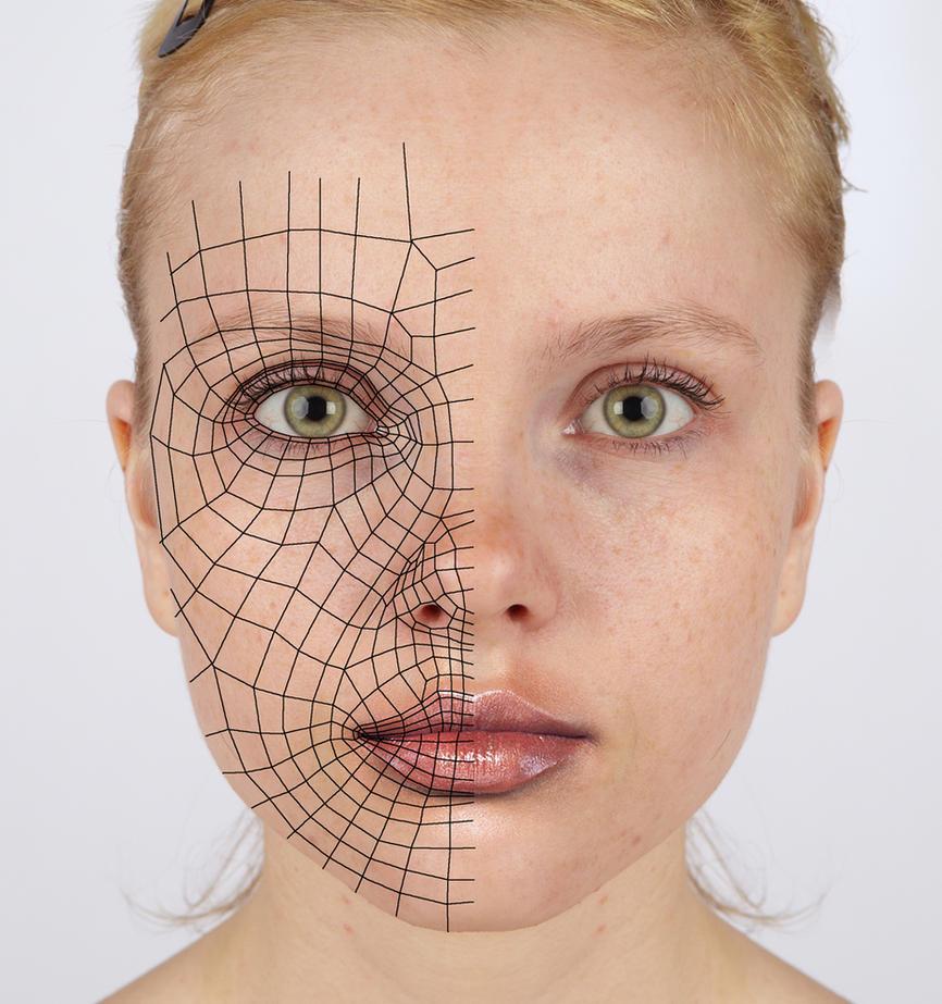 Лицо 3d по фотографии