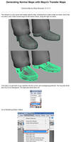 Maya - Generate Normals with Transfer Maps by Athey