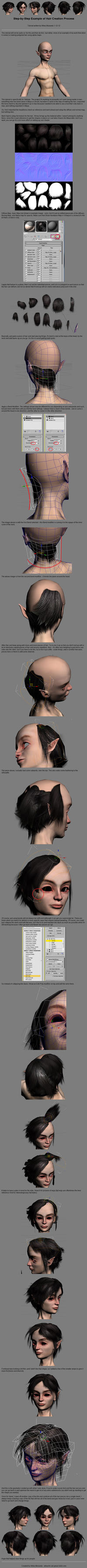 Polygon Hair Tutorial - 3dsMax by Athey
